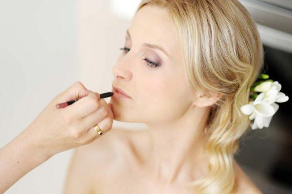 Make up für Hochzeit und Braut
